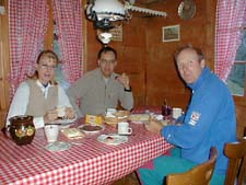 breakfast at Mittelberg