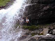 Mark and Mary Ann at a waterfall